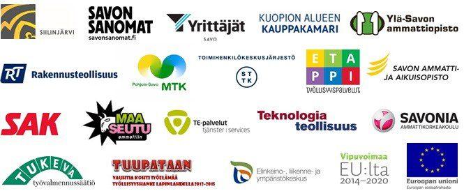 Yhteistyökumppanien logot